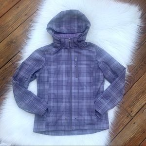 Free Country Gray & Purple soft Lined Jacket Sz S